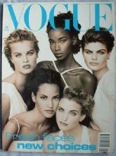 Vogue Magazine - 1992 - January